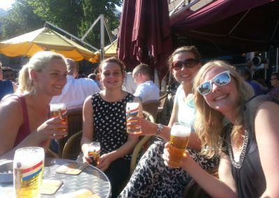 Viviane, Dorthe, Ilse Bakx, Fenneke